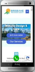 responsive Wordpress website for small business